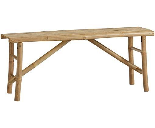 Panca pieghevole in bambù Mandisa, Legno di bambù, non trattato, Legno di bambù, Larg. 120 x Alt. 58 cm