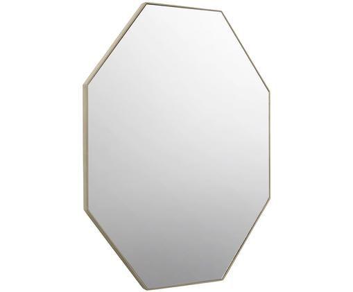 Wandspiegel Corner, Rahmen: Holz, lackiert, Spiegelfläche: Spiegelglas, Champagnerbeige, 61 x 81 cm