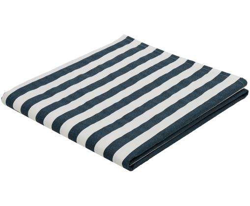 Obrus Arge, Bawełna, Niebieski, biały, S 150 x D 250 cm