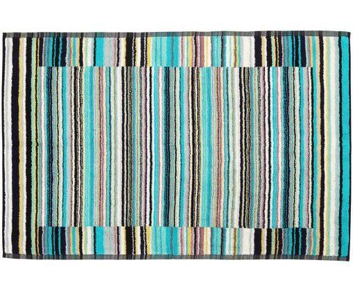 Tapis de bain Jazz, Turquoise, multicolore