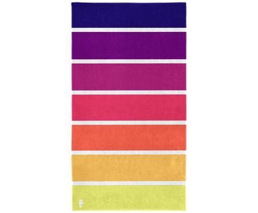 Ręcznik plażowy Marbella, Żółty, pomarańczowy, różowy, purpurowy, fioletowy