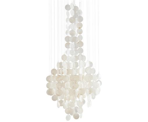 Suspension en coquillages Wallin, Blanc