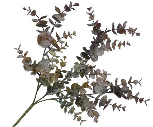 Fiore artificiale eucalipto Edi, Tonalità verdi, tonalità marroni
