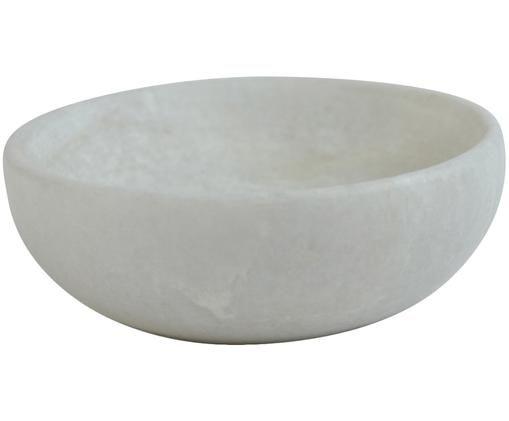 Marmor-Schälchen Eithne, Weiß, marmoriert