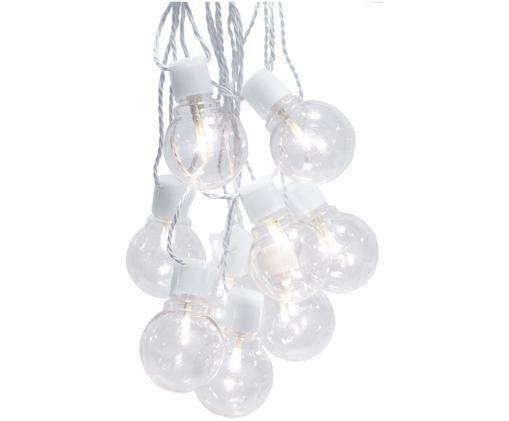 LED Lichterkette Partaj, 500 cm, Weiss, L 500 cm