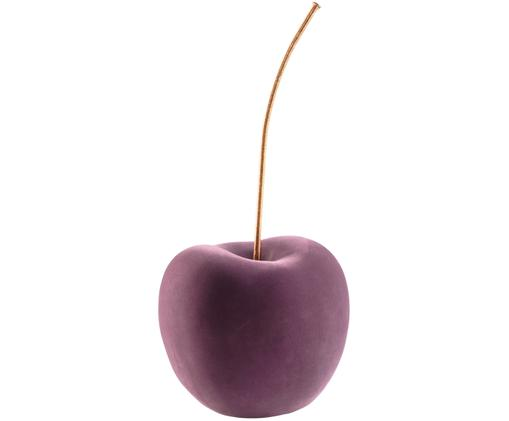 Oggetto decorativo XL Cherry, Lilla, ottonato