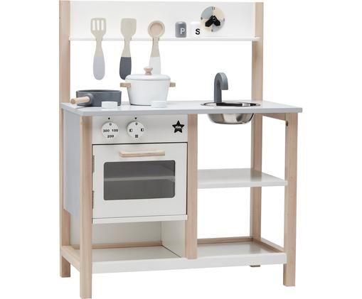 Spielzeug-Küche Home, Holz, Mehrfarbig, 55 x 73 cm