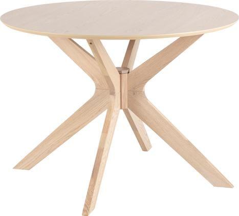 Runder Esstisch Duncan aus Holz
