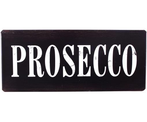 Pancarte Prosecco, Noir, blanc