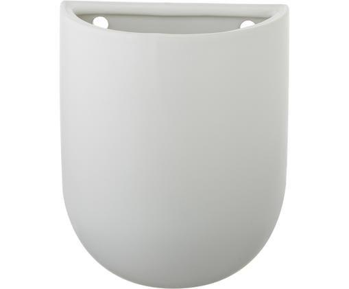 Cache-pot mural Oval, Blanc