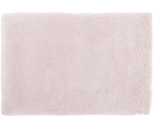 Flauschiger Hochflor-Teppich Leighton in Rosé, Rosé