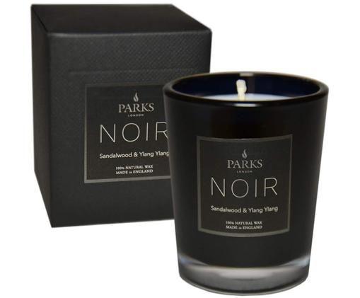 Świeca zapachowa Noir (drzewo sandałowe & jagodlin wonny), Czarny, Ø 8 x W 9 cm