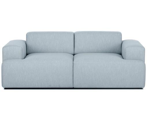 Sofa Marshmallow (2-Sitzer), Bezug: Polyester 35.000 Scheuert, Gestell: Massives Kiefernholz, Spa, Füße: Kiefernholz Das FSC zerti, Blaugrau, B 200 x T 101 cm