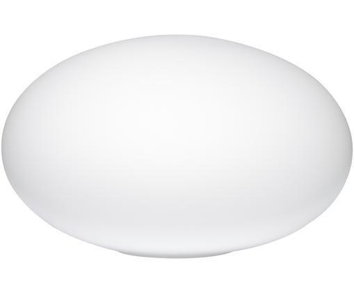 Borne d'éclairage en verre blanc mat Vancouver, Blanc