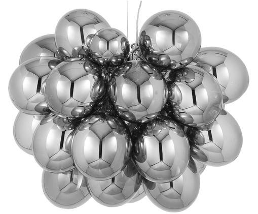 Suspension boule en verre Gross Grande, Chrome