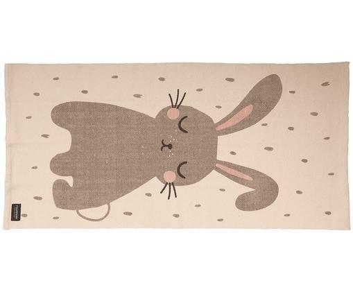 Alfombra Rabbit, Algodón, Blanco crudo, An 70 x L 140 cm