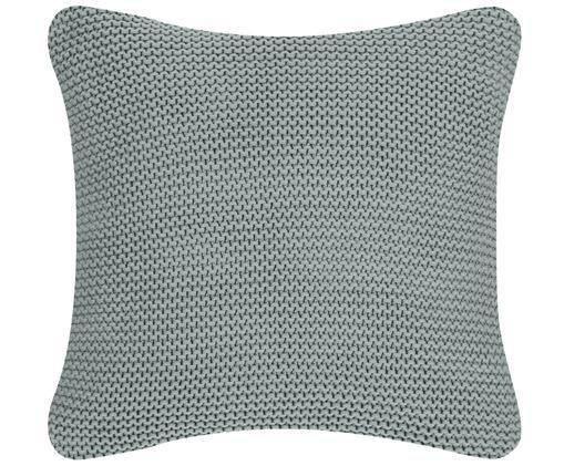 Federa arredo in cucitura a maglia Adalyn, Cotone, Verde salvia, Larg. 40 x Lung. 40 cm
