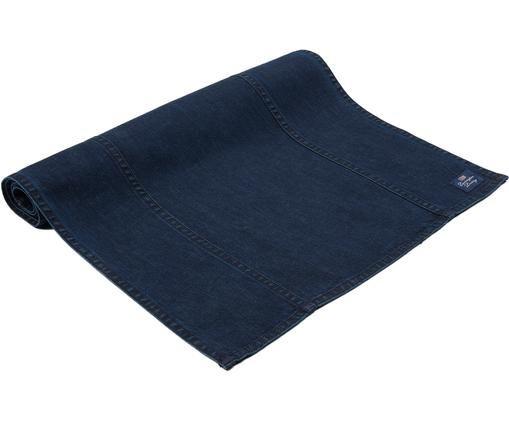 Tischläufer Denim, Baumwolle, Jeansblau, 50 x 150 cm