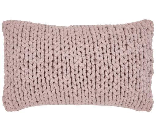 Poszewka na poduszkę Josie, 100% bawełna, Różowy, S 40 x D 60 cm