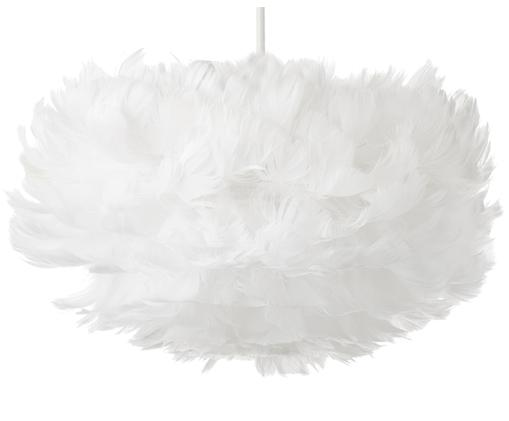Suspension en plumes blanches Eos, Blanc