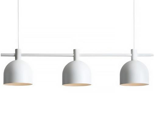 Suspension style scandinave Mecha, Blanc