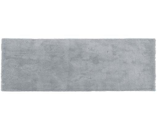 Flauschiger Hochflor-Läufer Leighton, Grau
