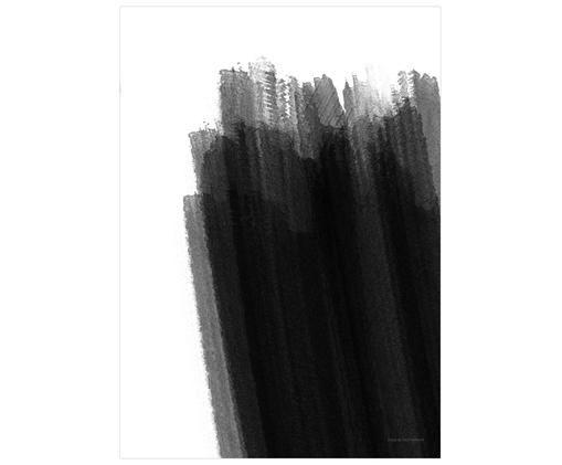 Poster Paint No.1, Bianco, nero