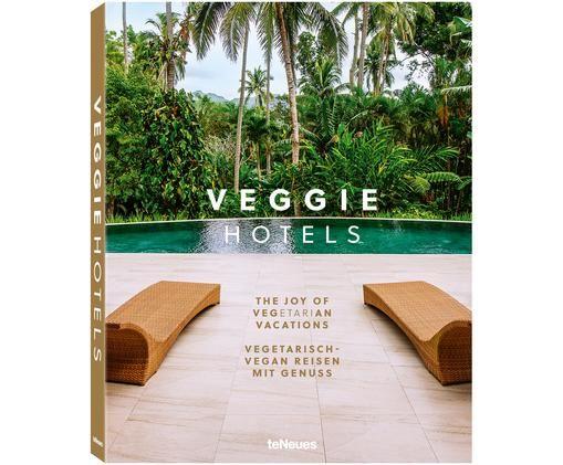 Bildband Veggie Hotels, Papier, Hardcover, Mehrfarbig, 25 x 32 cm