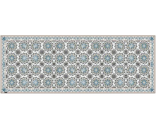 Alfombra vinílica Selina, Vinilo, reciclable, Beige, marrón, azul, An 68 x L 180 cm