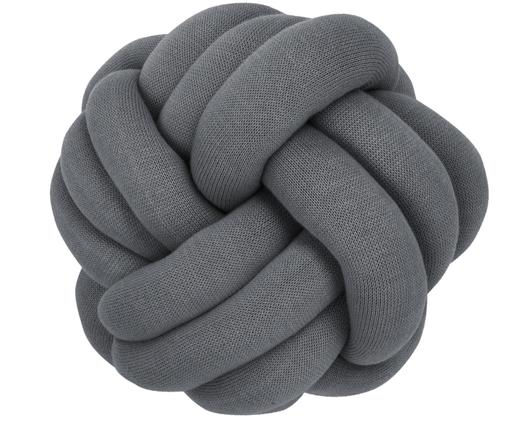 Cuscino Twist, Grigio scuro, Ø 30 cm