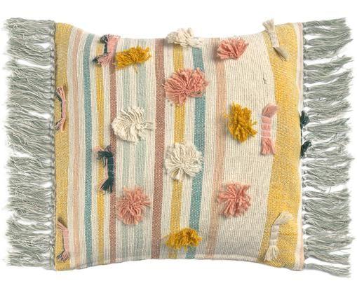 Dwustronna poszewka na poduszkę Colors, Bawełna, Wielobarwny, S 45 x D 45 cm