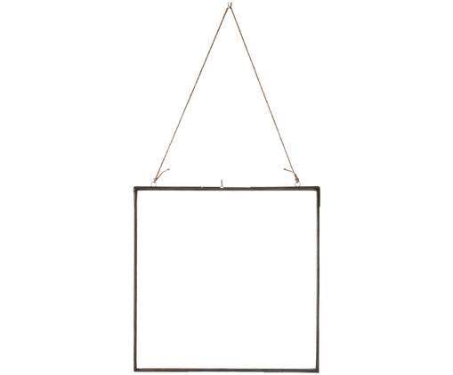 Bilderrahmen Asta, Rahmen: Metall, verzinkt, Front: Glas, Zink, 35 x 35 cm
