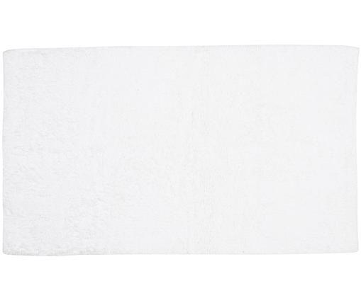 Großer Badvorleger Luna in Weiß, Weiß, 70 x 120 cm