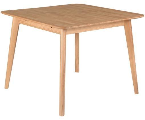 Tavolo da pranzo allungabile Percy, Legno di quercia