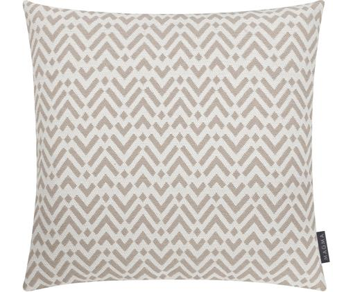 Federa arredo  Pitu, Cotone, Sabbia, beige, Larg. 50 x Lung. 50 cm