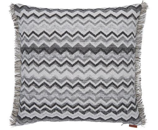 Coussin Wipptal, Noir, blanc