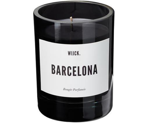 Duftkerze Barcelona (Schwarze Johannisbeere, Sonnenblumen & Patschuli), Schwarz