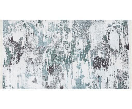 Teppich Keon im Artsy Style, 50% Polyester, 50% Baumwolle, Grautöne, B 80 x L 150 cm (Größe XS)