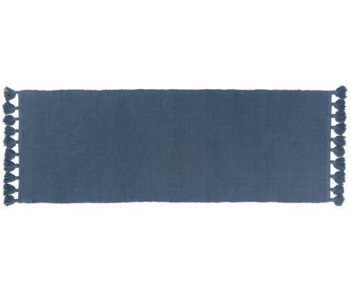 Tapis de couloir Homer, Bleu indigo