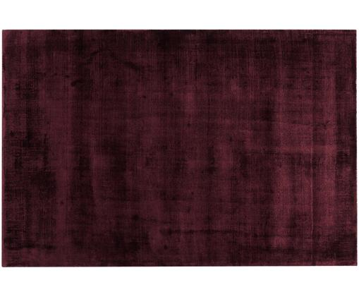 Tapis en viscose Jane, Bordeaux