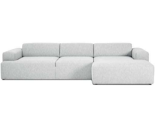 Canapé d'angle Marshmallow (4 places), Gris clair
