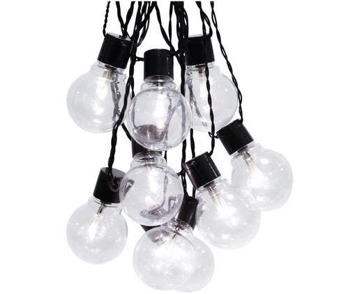 LED lichtslinger Partaj, Zwart, L 500 cm