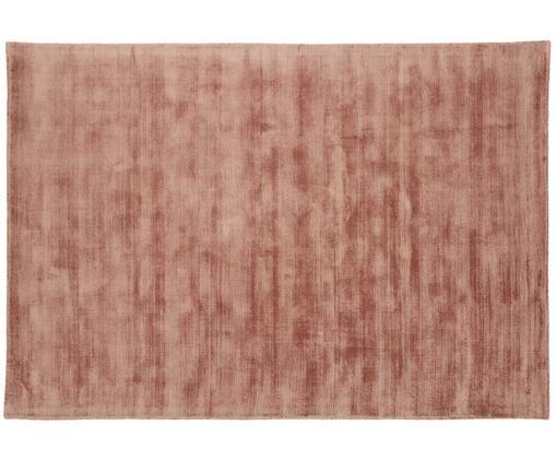 Ręcznie tkany dywan z wiskozy Jane, Terakota, S 160 x D 230 cm (Rozmiar M)