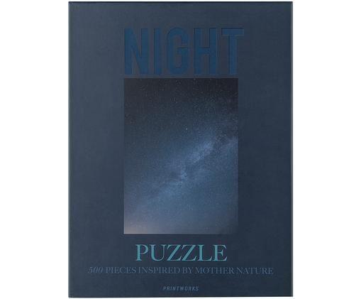 Puzzle Night, 500piezas, Azul