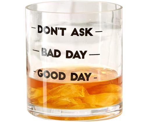 Bicchiere da Whiskey Old Fashioned, Trasparente