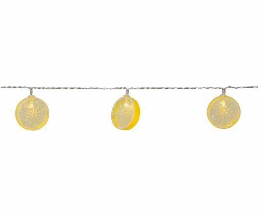Girlanda świetlna Funny Lemon, Żółty