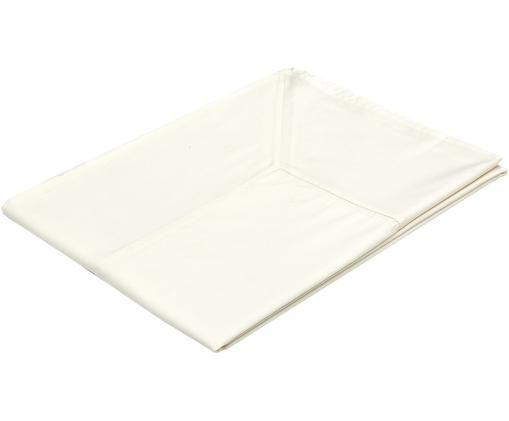 Mantel Ariana, Algodón, Blanco crudo, De 8 a 10 comensales (An 140 x L 270 cm)