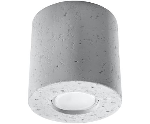 Lampa spot Roda, Beton, Jasny szary, Ø 10 x W 12 cm