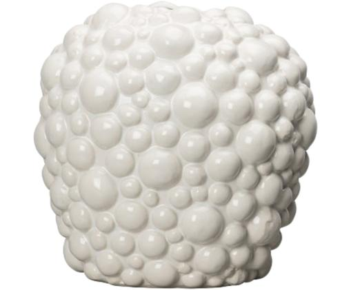 Wazon Celeste, Kamionka, Biały, Ø 26 x W 26 cm