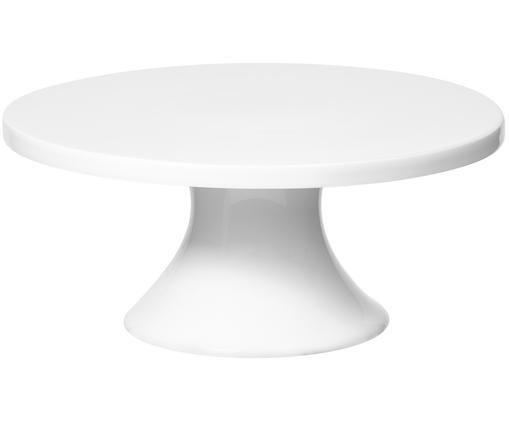 Tortenplatte Empire, Porzellan, Weiß, Ø 21 x H 9 cm